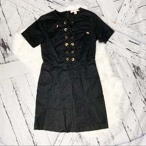 Michael by Michael Kors lace up dress.